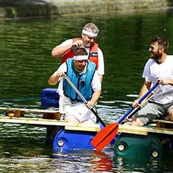 Boat Build Team Building Race