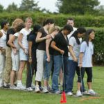 Outdoor Team Building Event
