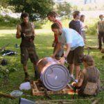 Pittsburgh Team Building Rafts